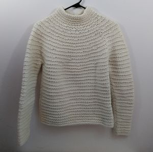 Womens L Gap lambswool/ rabbit knit turtleneck